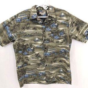 Mens J Crew Short Sleeve 100% cotton Size L